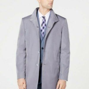Calvin Klein Slim Fit Solid Raincoat